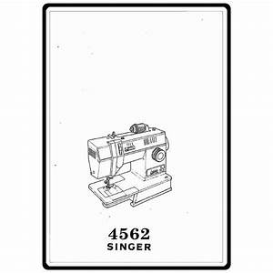Instruction Manual  Singer 4562   Sewing Parts Online