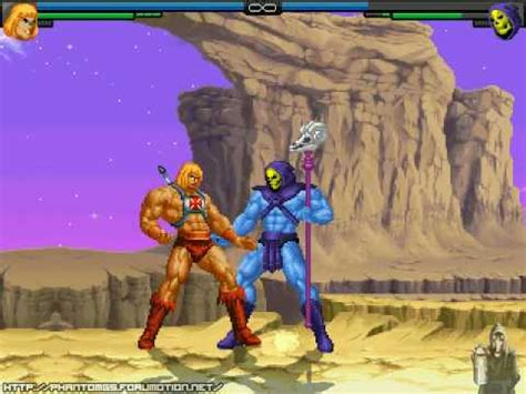 Xgutsx Mugen (heman Vs Skeletor) Masters Of The