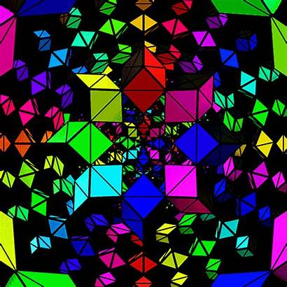 Colors Geometry Gifs Giphy Hypnotic Xponentialdesign