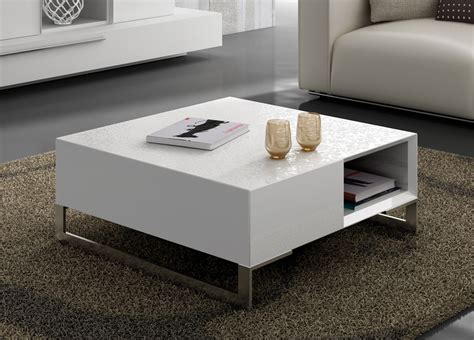 Estenso Coffee Table With Storage  Contemporary Coffee