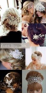 Bridal Style Lace Hair Pieces Glitter IncGlitter Inc