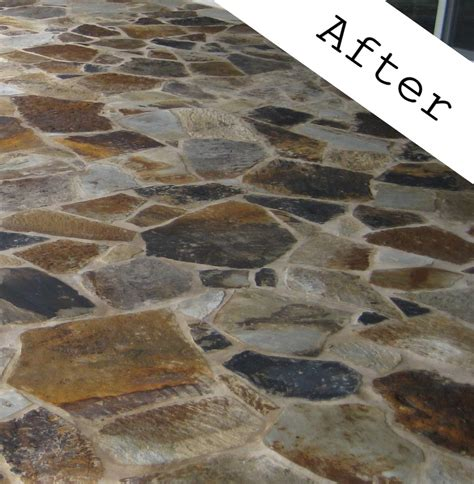 sealing flagstone superior stone sealers flagstone sealing enhancing houston austin san antonio dallas