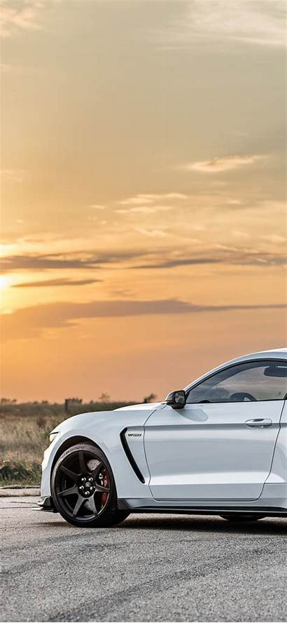 Shelby Gt350r Supercharged Hennessey Hpe850 Rear Wallpapers