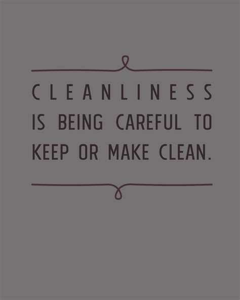 cleanliness quotes image quotes  hippoquotescom