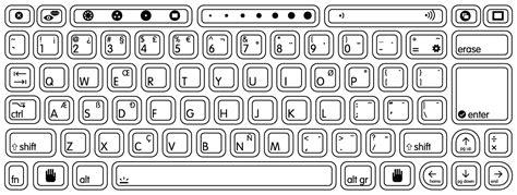 Coloring Keyboard by Keyboard Coloring Pages Kidsuki
