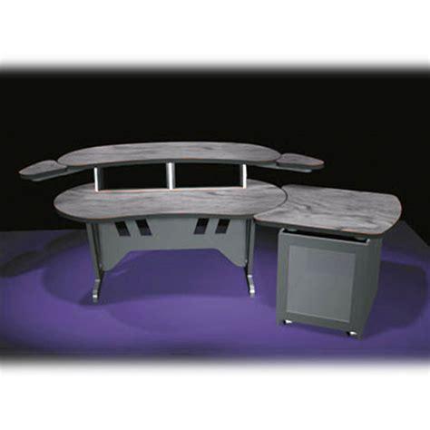middle atlantic desk middle atlantic elur s12d ps 84 quot edit center elur s12d ps