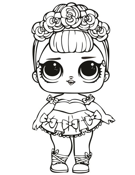 pin  anya amir  lol surprise  coloring pages lol
