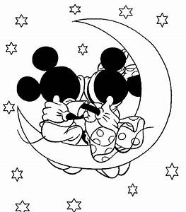 Disney Coloring Page: Mickey and Minnie Mouse Coloring Pages