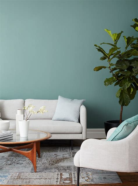 make waves serene blue green paint color clare clare