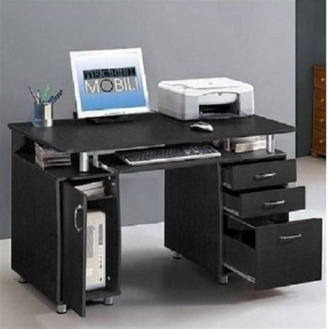 compact desk with storage compact computer desk workstation home office storage