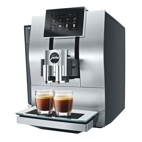 The z6 features pulse extraction process (pep) that assures quality extraction of unique aroma and flavors. Jura Z8 coffee machine   My Coffee Shop