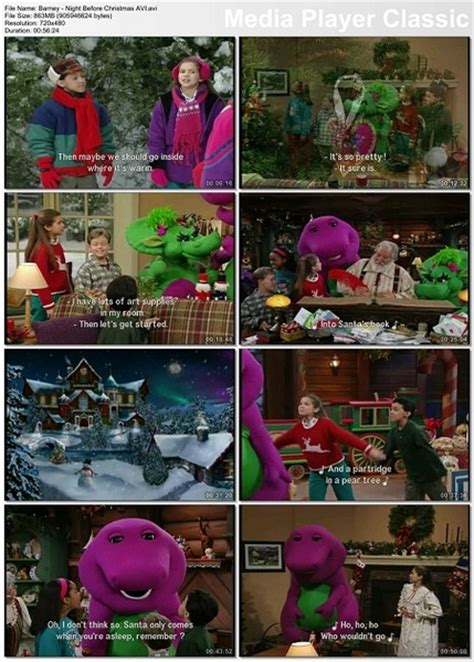 Cast Of Deck The Halls by Barney S Night Before Christmas 1999 Dvdrip Xvid 187 Free