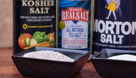 what is the difference between sea salt and table salt 524 best images about favorite recipes food on pinterest