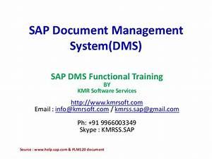 Sap document management systemdms plm 120 for Sap document management system