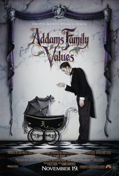 addams family values  poster    imp awards