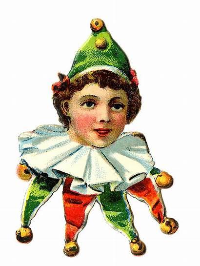 Elf Clowns Circus Graphics Clown Fairy Jester