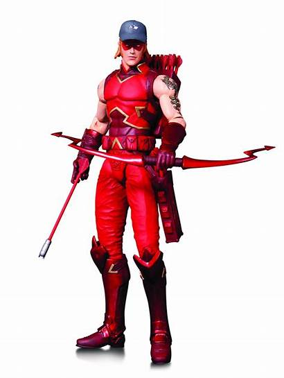 Dc Action Figures Hood Collectibles Arsenal Figure