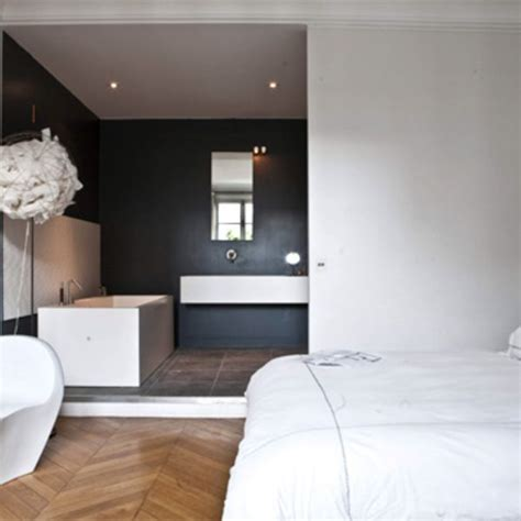 salle de bain ouverte sur chambre les 25 meilleures idées de la catégorie salle de bains