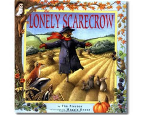 fall books the lonely scarecrow autumn books for 593   the lonely scarecrow