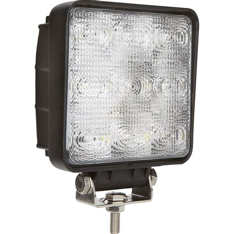 ultra tow 12 volt led flood light 27 watt 9 leds 2150