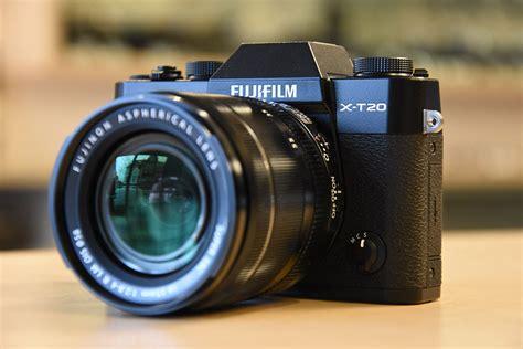 Fuji X-T20 camera and Fujinon XF 50mm f/2 R WR lens now