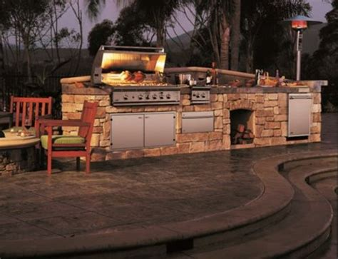 Outdoor Küche Stein by Outdoor K 252 Che Mit Grill Lifestyle Outdoor K 252 Che