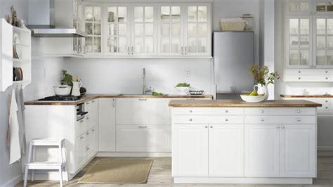 cuisine laqu馥 blanche ikea modele de cuisine ikea appartementekem tk