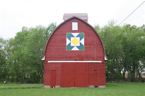 Iowa Barn Quilt Painting Photograph By Amelia Painter