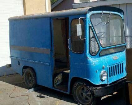 jeep van truck 1962 willys jeep fj 3 fleetvan bring a trailer