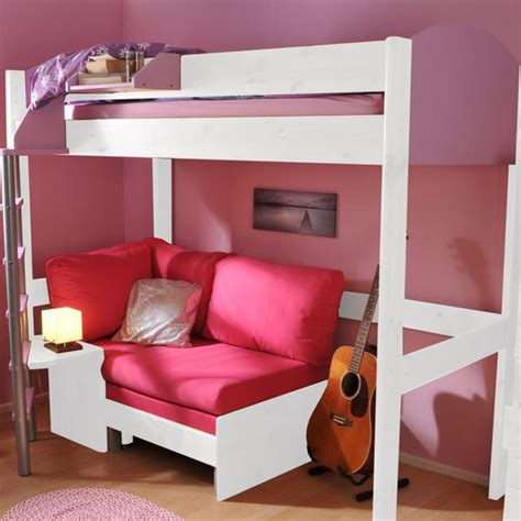 High Sleeper Bed With Sofa by Stompa Casa 1 White High Sleeper With Sofa Bed Family Window