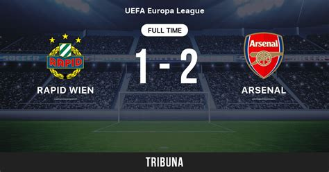 Rapid Wien - Arsenal: Live Score, Stream and H2H results ...