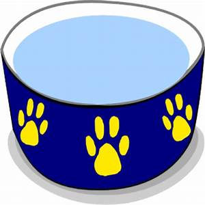 25+ Water Bowl Clip Art