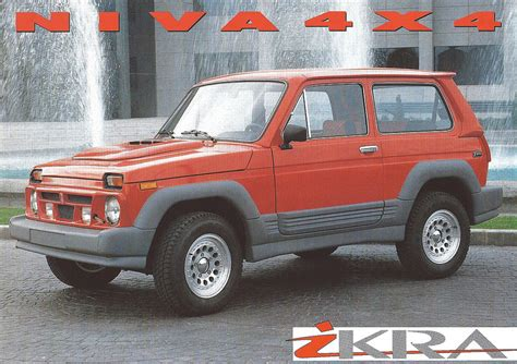 Lada Niva–with A Drop Top And A Body Kit