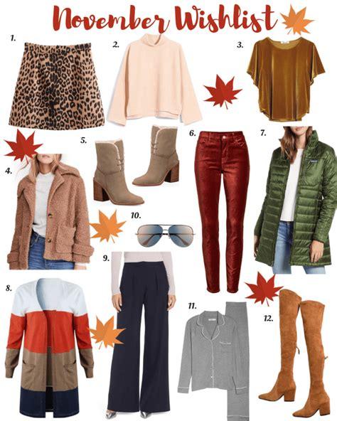 My November Wishlist • Style me Lauren | Cute fashion ...