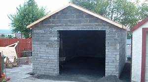 prix d39un garage en parpaings cout de construction With garage bois ou parpaing