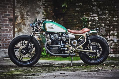 expresso a turbo honda cx500 cafe racer from kingston customs pipeburn