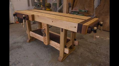 woodworking  samurai workbench youtube