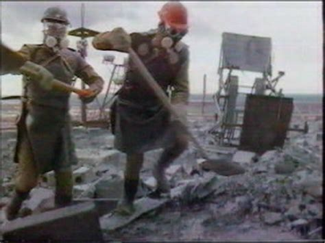 foto  testimonianze dei liquidatori cerro chernobyl