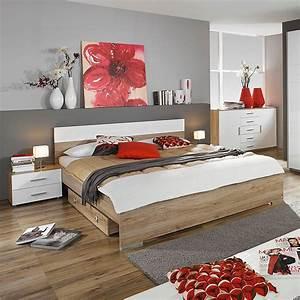 prix des meuble chambre 179 With chambre a coucher adulte avec matelas 90x190 bultex soldes