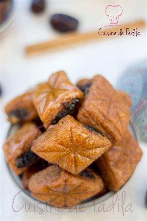 cuisine marocaine makrout aux dattes