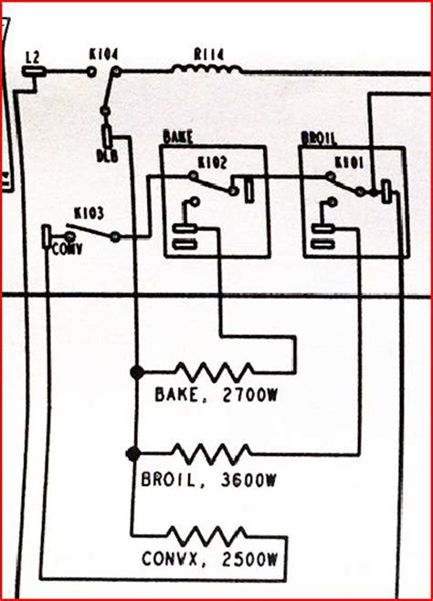 Wiring Diagram For Ge Oven Element ge profile wall oven jt965 both bake and broil