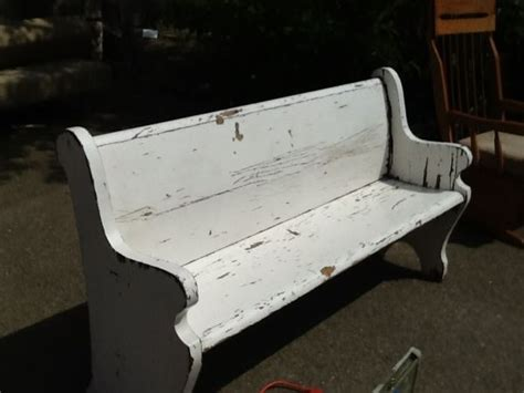 Free Church Chairs On Craigslist by My Next Project Church Pew Painted Furniture