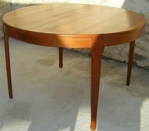 Table Scandinave Vintage Des Annes 60 Estampilles