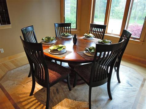 6 person kitchen table 20 best collection of 6 person dining tables 3929