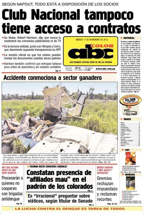 abc color py peri 243 dico abc color paraguay peri 243 dicos de paraguay