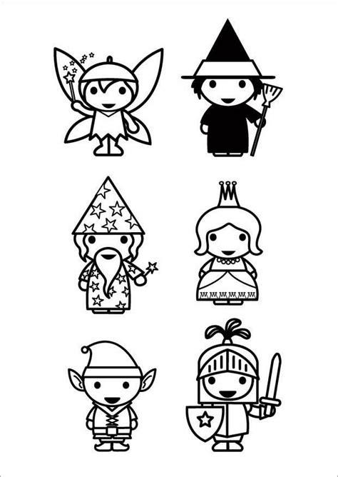 disegno da colorare personaggi delle favole disegni da