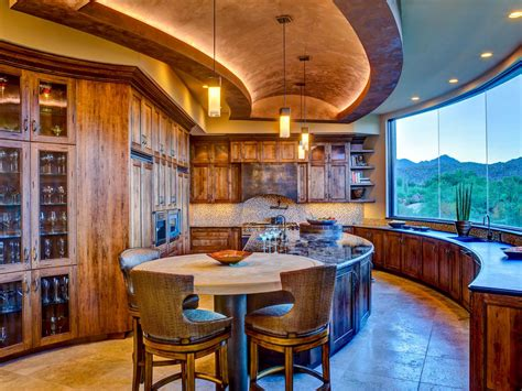 Southwestern Kitchen With A View