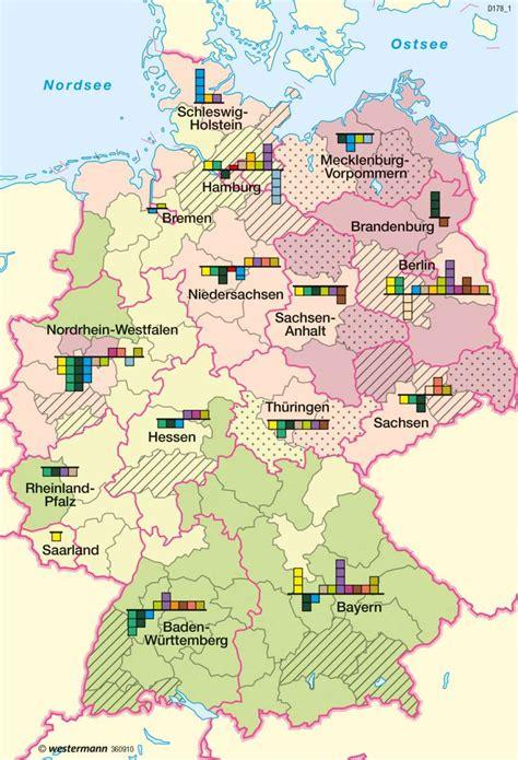 In Deutschland by Diercke Weltatlas Kartenansicht Deutschland