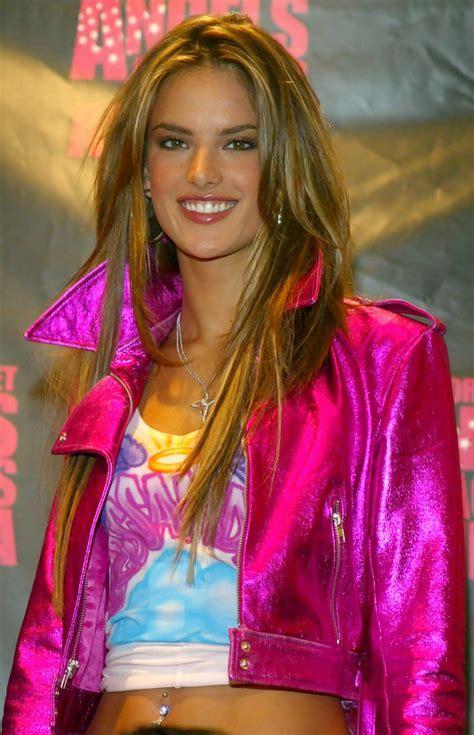 November 2004   Alessandra Ambrosio's Prettiest Hair