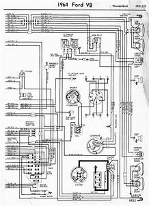 Wiring Diagrams Of 1964 Ford V8 Thunderbird Part 2  U2013 Auto